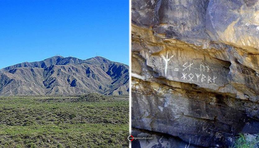 El Cerro Arco y las runas que se encuentran en el camino a la Piedra de Isidris