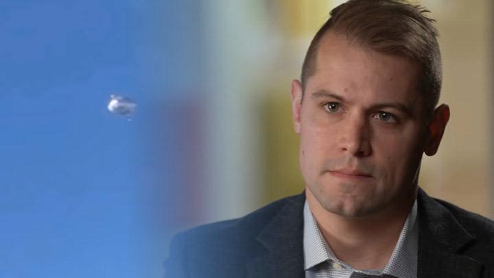 Ryan Graves, ex piloto de la Marina de EE. UU., dijo haber visto OVNIs todos los días durante varios años