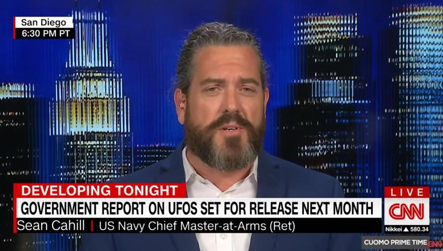 Sean Cahill, jefe de armas retirado de la Marina de los EE. UU.