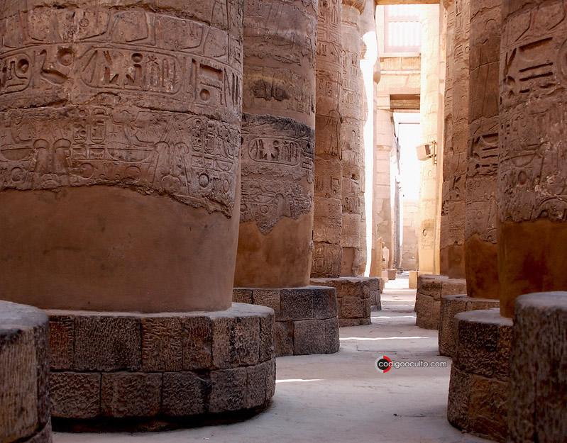 Templo de Karnak, Luxor, Egipto.