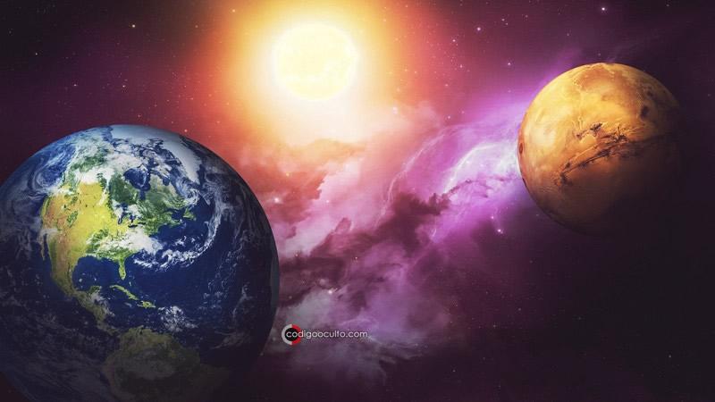 Vida pudo haber sido transportada desde la Tierra hasta Marte.