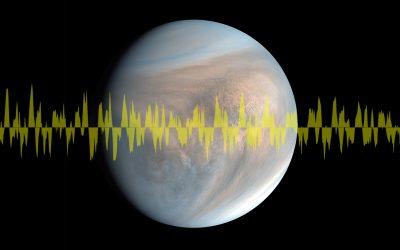 Venus: detectan señal de radio de baja frecuencia en la atmósfera del planeta