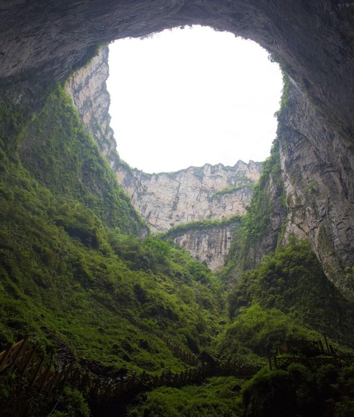 Otra toma de Xiaozhai Tiankeng