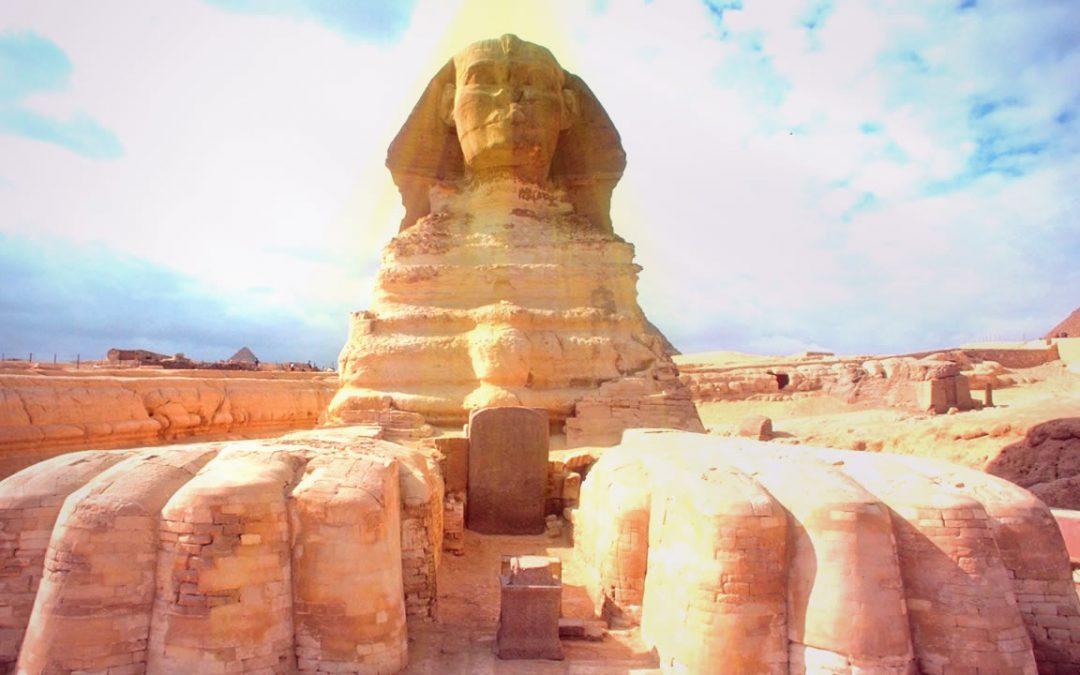 El Acertijo de la Gran Esfinge del antiguo Egipto