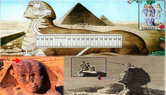 Teorías sugieren que la Esfinge de Giza tiene pasajes y cámaras secretas ocultas