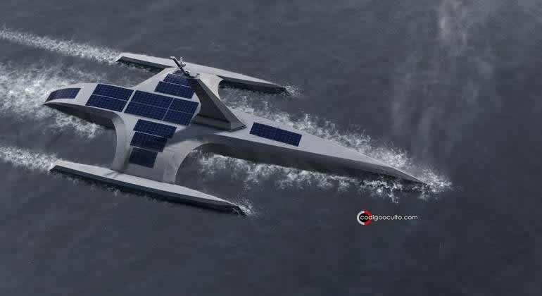 Con inteligencia artificial y sin tripulación, así es el barco autónomo desarrollado por IBM