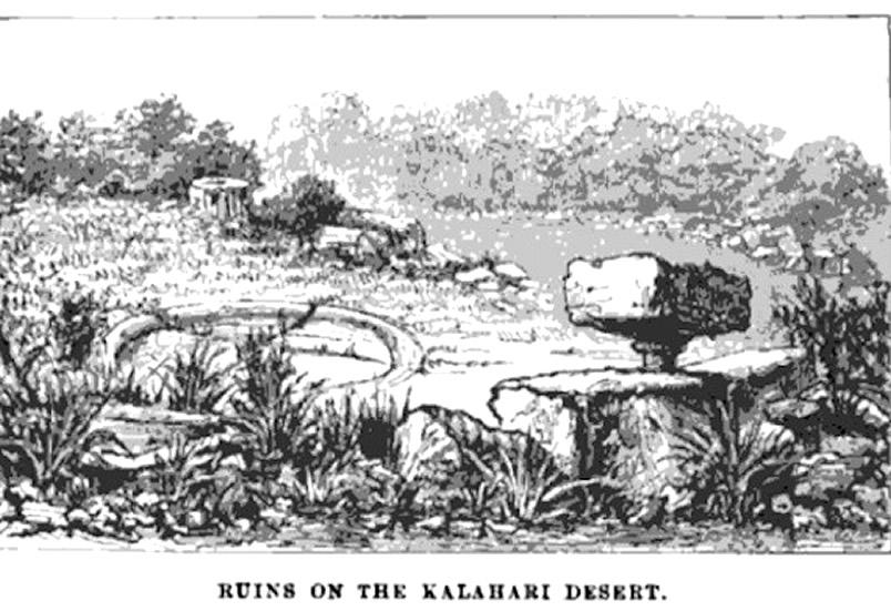 Ruinas de la ciudad perdida de Kalahari