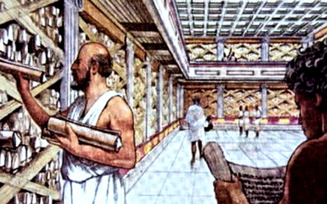 ¿De dónde y cómo vinieron los libros de la Biblioteca de Alejandría?