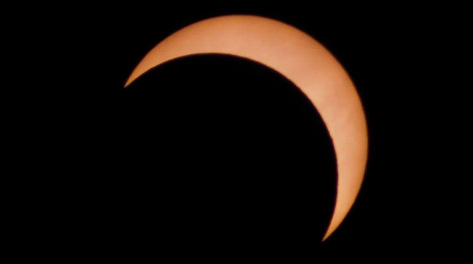 El eclipse anular de Sol desde Río Gallegos, Argentina, en 2018