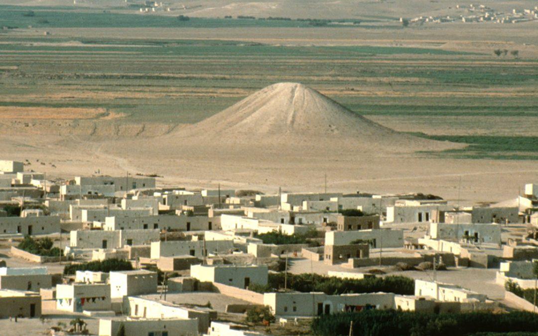 Hallan el montículo artificial con forma de pirámide más antiguo del mundo en Siria