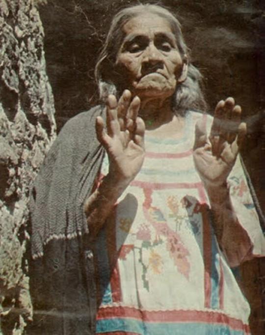 María Sabina la sacerdotisa de los hongos