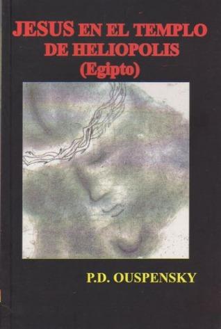 """Portada del libro """"Jesús en el Templo de Heliópolis"""""""