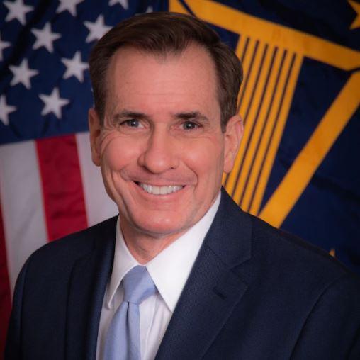 John Kirby, secretario de prensa del Pentágono