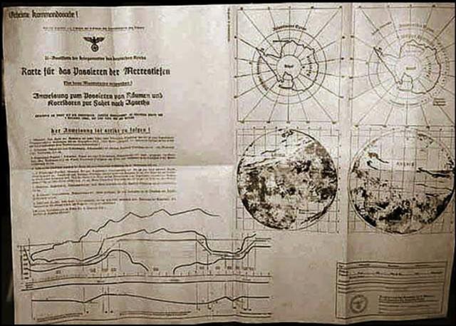 Vista completa del documento que muestra la Antártida