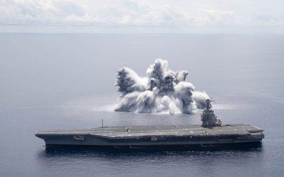 Marina de EE. UU. causa enorme explosión que generó sismo de magnitud 3.9 (VIDEO)