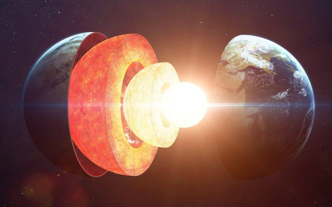 Núcleo de la Tierra está creciendo en un patrón «desequilibrado», y científicos no pueden explicarlo