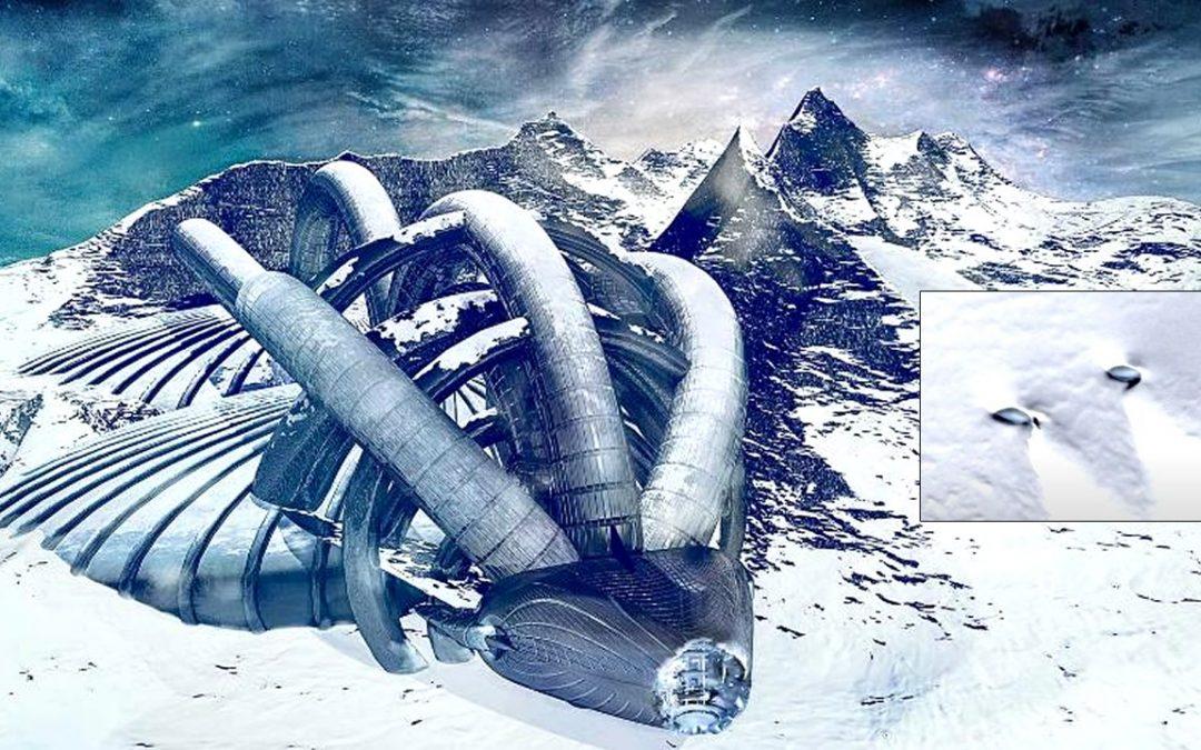 Dos objetos No Identificados son descubiertos en una zona rocosa de la Antártida (VIDEO)