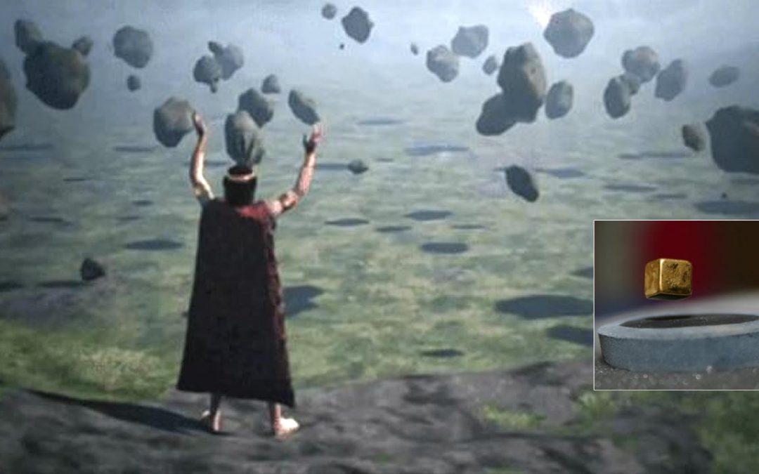Ondas sonoras hacen levitar objetos. ¿Así lograron mover piedras enormes las civilizaciones antiguas?
