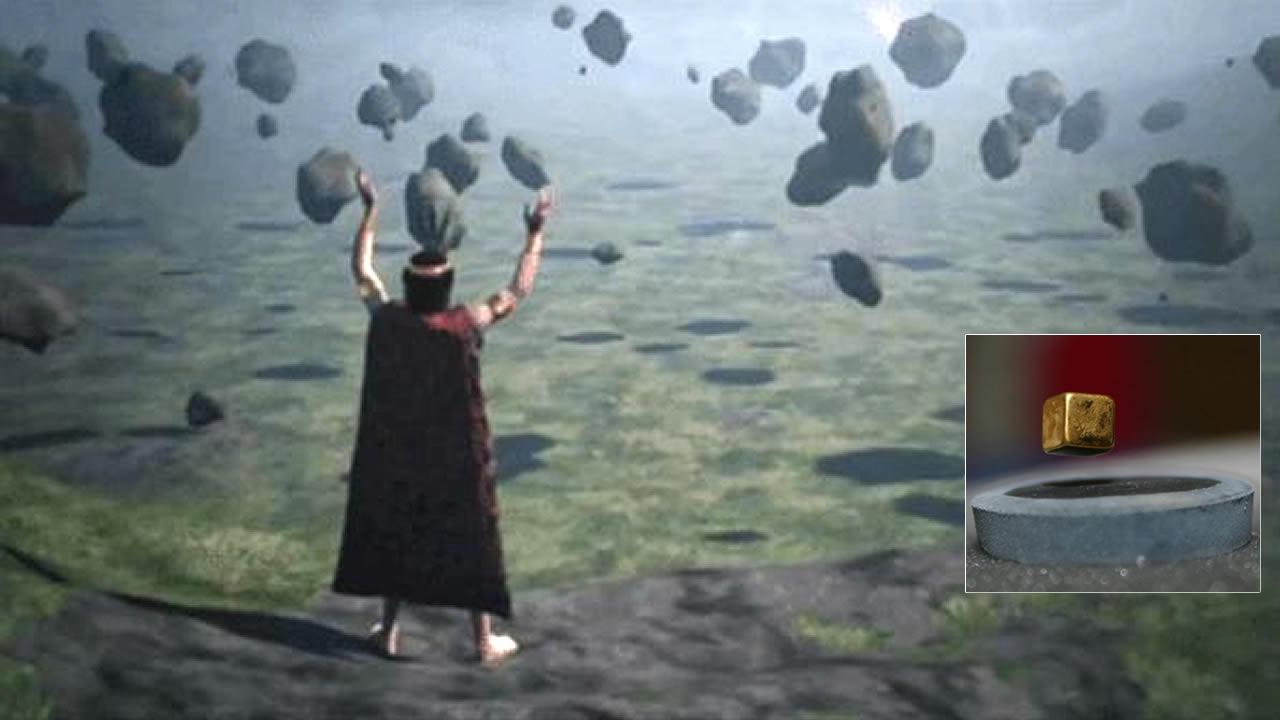 Ondas sonoras hacen levitar objetos. ¿Así lograron mover piedras enormes las civilizaciones antiguas ?