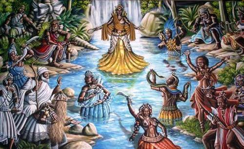 Representación de las deidades Yoruba, Orishas