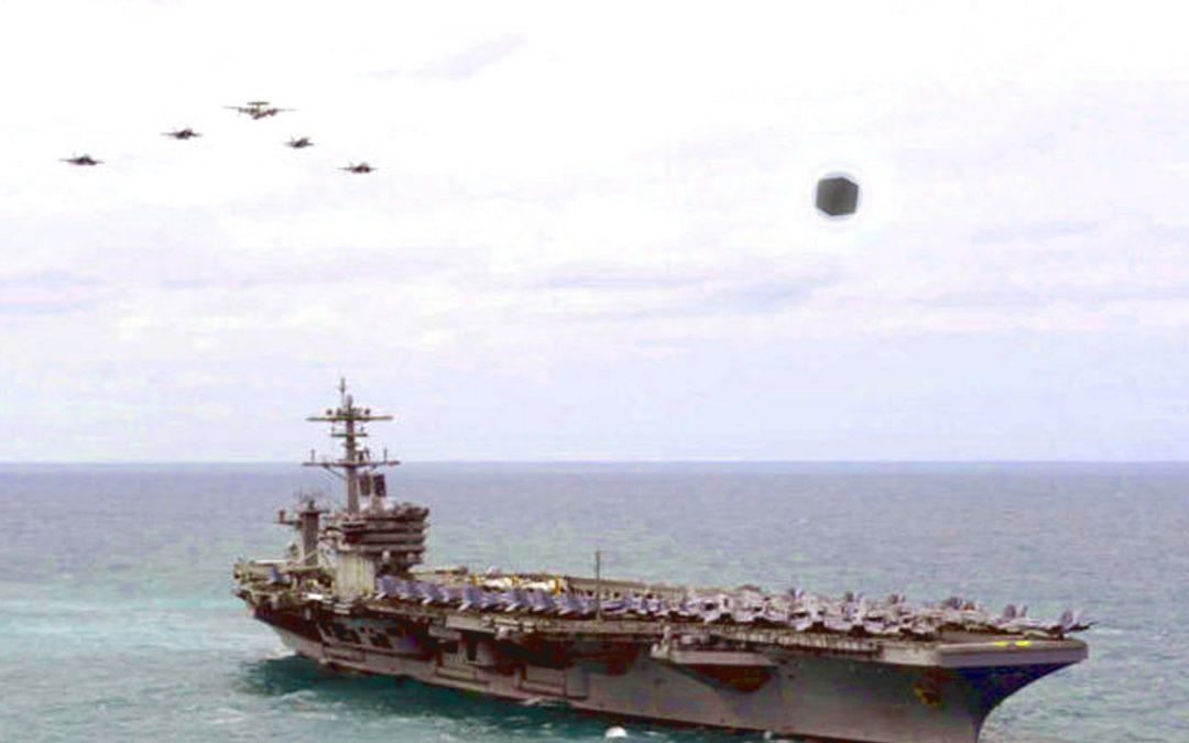 Revelan nuevo video de No Identificados luminosos cerca de Barco de Armada de EE. UU.