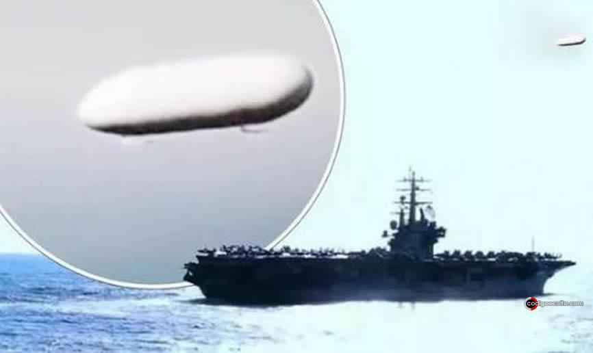 OVNIs con forma de Tic-Tac han aparecido cerca de barcos de la Marina de EE. UU. y aún lo siguen haciendo.