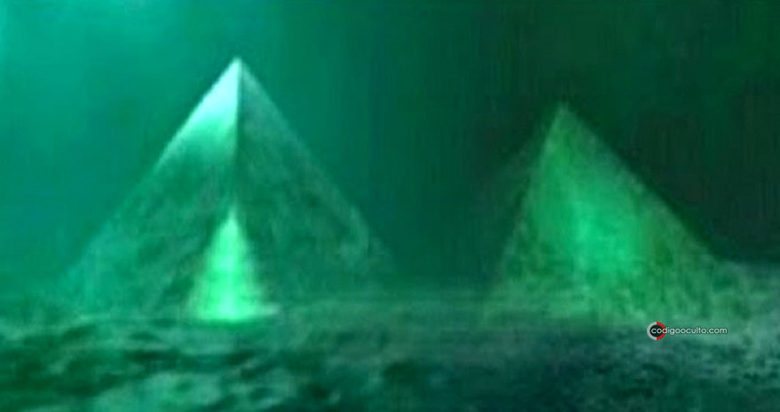 Según investigadores, las pirámides sumergidas en el Triángulo de las Bermudas estarían compuestas de una sustancia cristalina