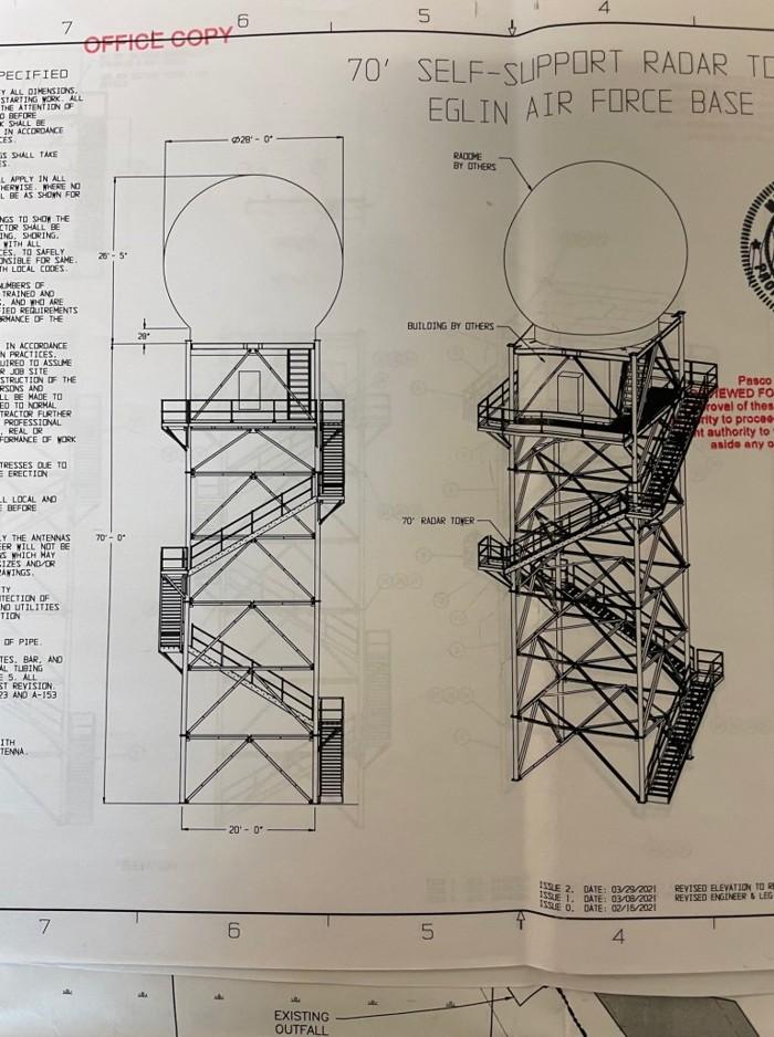 ¿Plano de construcción para una estación de rastreo OVNI?