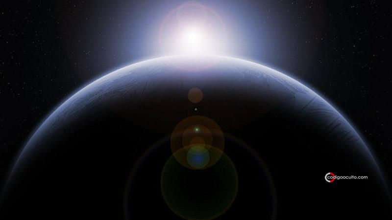Representación de un planeta