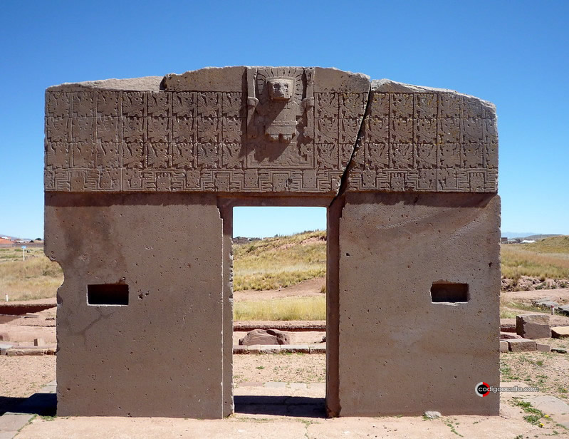 La Puerta del Sol de Tiahuanaco