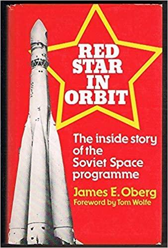 """Portada de Libro """"Red Star in Orbit"""", de James E. Oberg"""