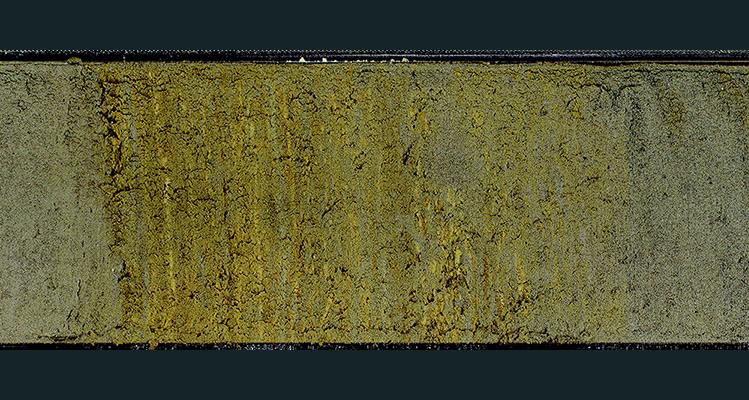 """Los núcleos de sedimentos mantienen un registro de eventos pasados de bajo nivel de oxígeno en forma de sedimentos en capas o """"laminados"""""""
