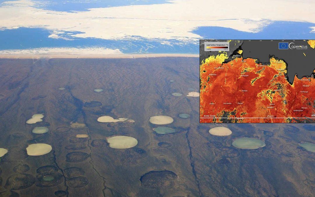 Siberia está ardiendo: ola de calor alcanza 48 ° C y es una de las peores que se recuerdan