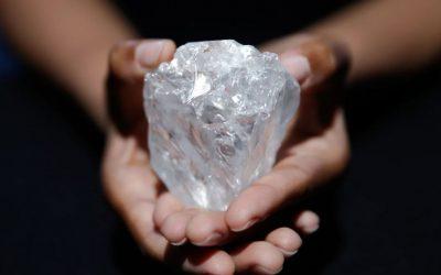 El tercer diamante más grande de la Tierra ha sido descubierto en África