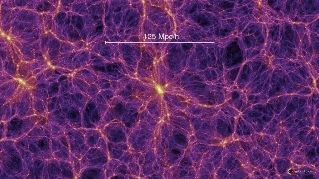 La materia oscura representa aproximadamente el 85% de la masa del Universo y se está extendiendo