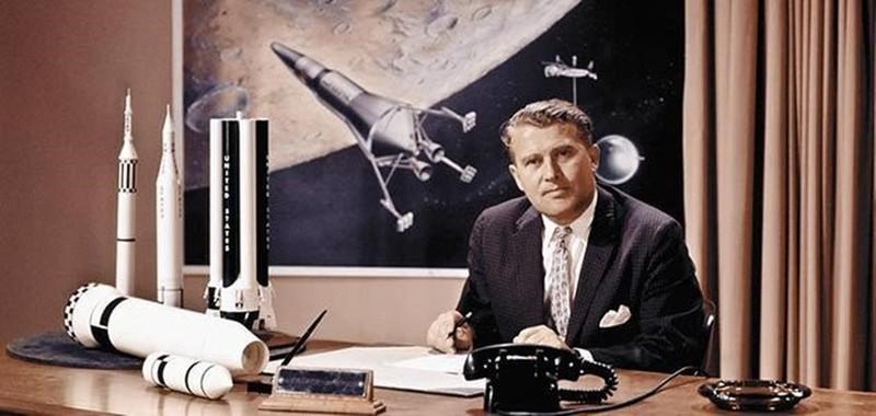 Wernher von Braun y una controversia que no cesa