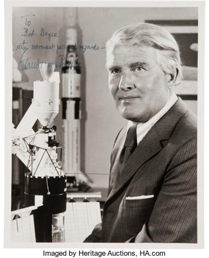 La leyenda de Wernher von Braun. Héroe y Villano