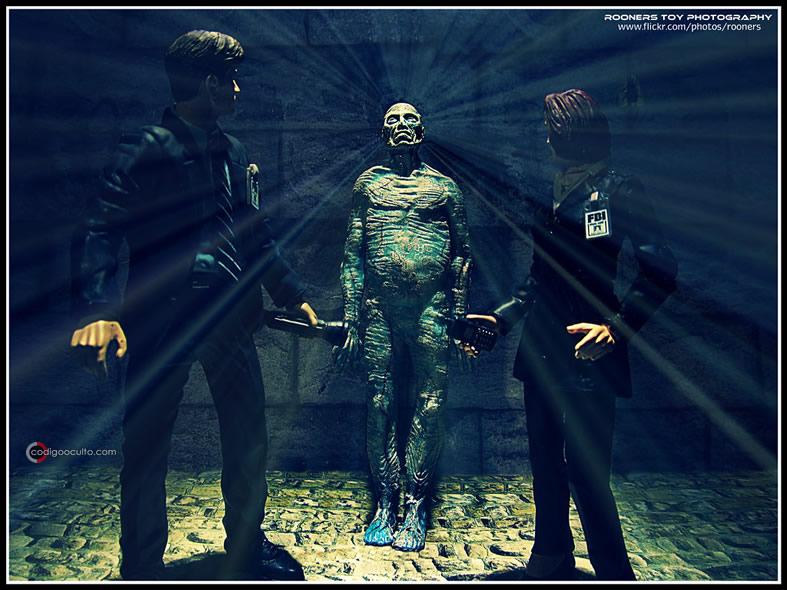Representación de X Files.