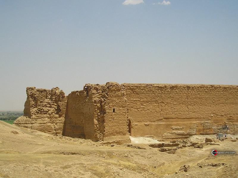 Dura-Europos, una antigua ciudad de origen macedónico-griego fundada en el 300 a. C.