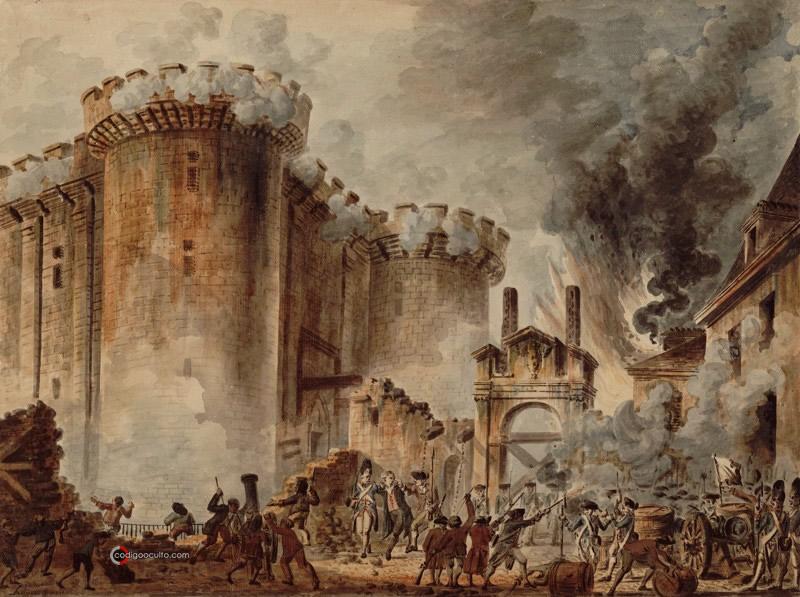 Toma de la Bastilla, durante la Revolución francesa