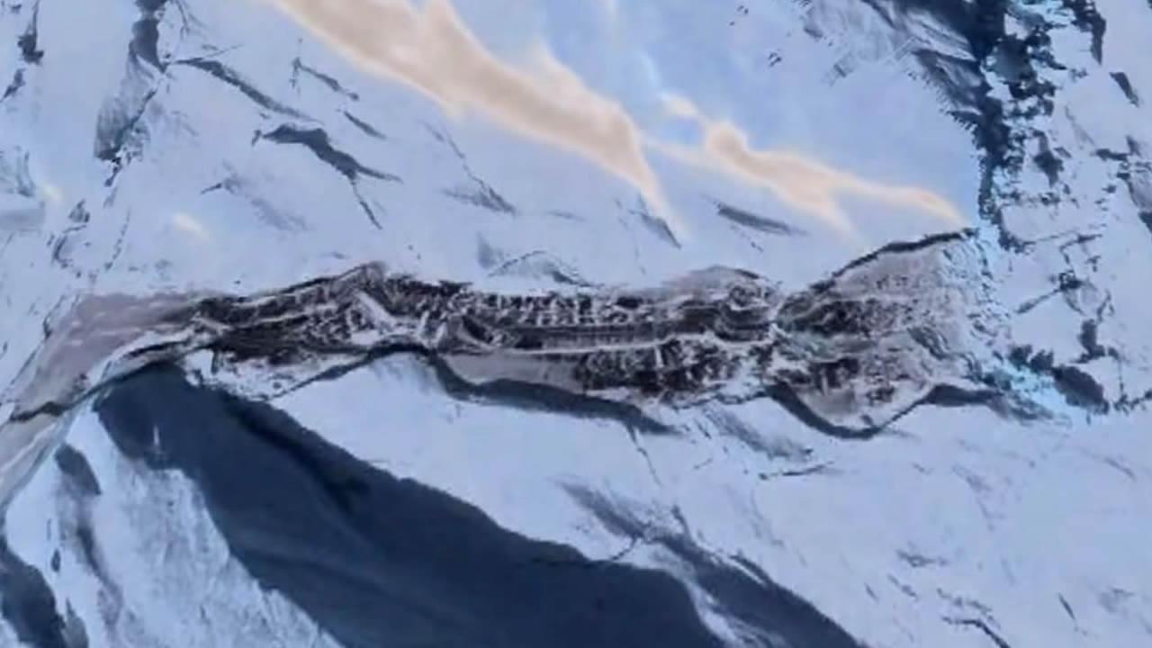 Algo enorme está derritiéndose en la capa de hielo de la Antártida