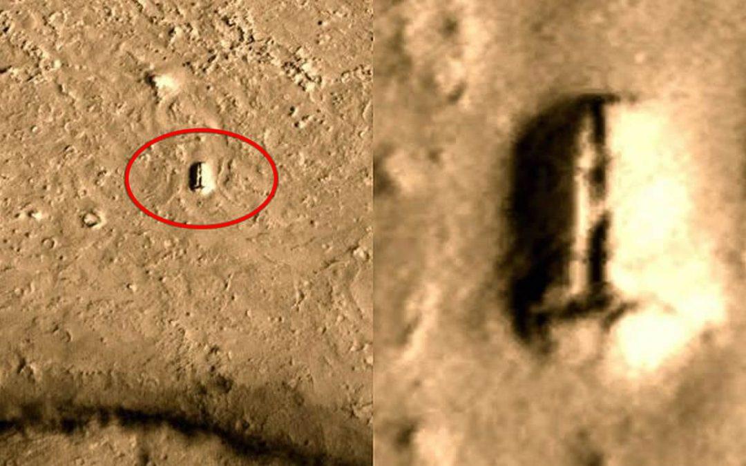 Estructura hallada en Marte. ¿Puerta a una base subterránea? (VIDEO)