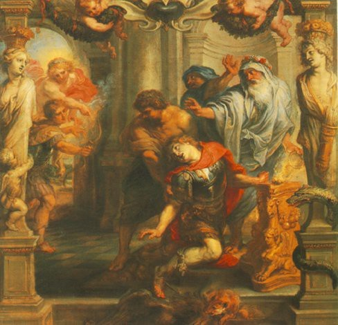 La muerte de Aquiles