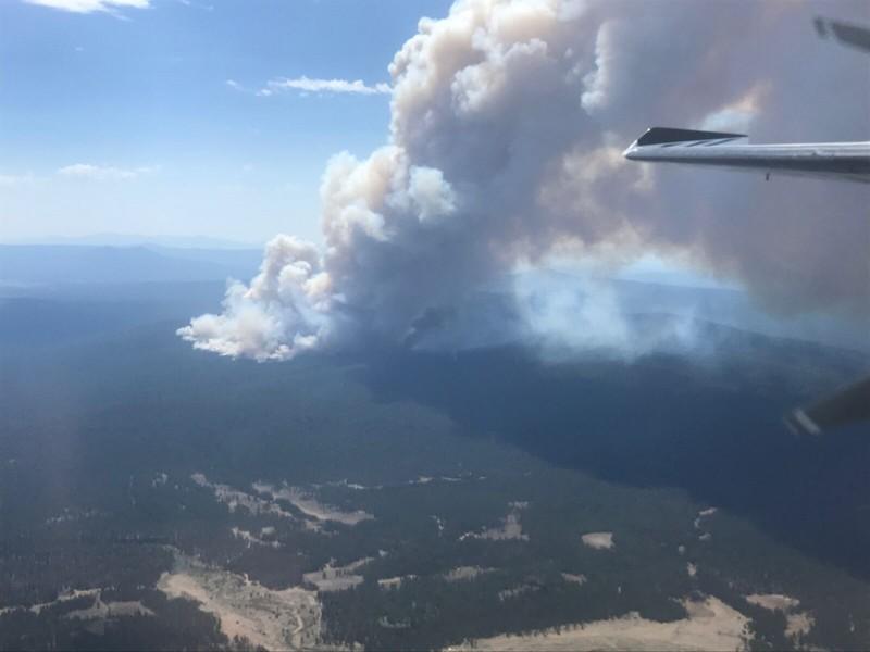 Incendio en Oregon