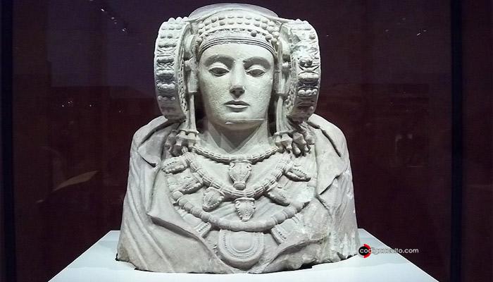Se cree que la Dama de Elche podría pertenecer a una civilización perdida