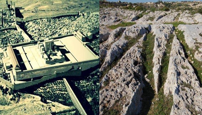 La Plataforma de Baalbek y los Carts Ruts de Malta podrían ser restos de la civilización Osiriana
