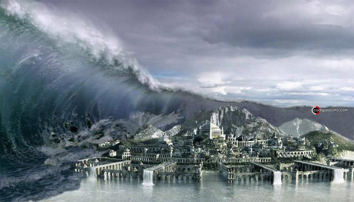 El cataclismo que hundió a la Atlántida pudo derivar en la destrucción de la cultura osiriana.