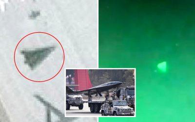 Drone triangular hipersónico visto en base aérea China. Pentágono investiga si Beijing está detrás de los OVNIs