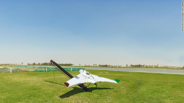 Los drones darán a las nubes una carga eléctrica en un intento de generar lluvia
