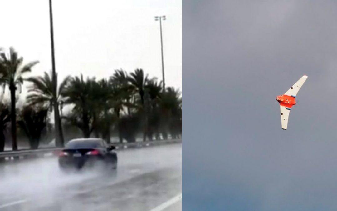 Emiratos Árabes Unidos crea lluvias utilizando drones de siembra de nubes